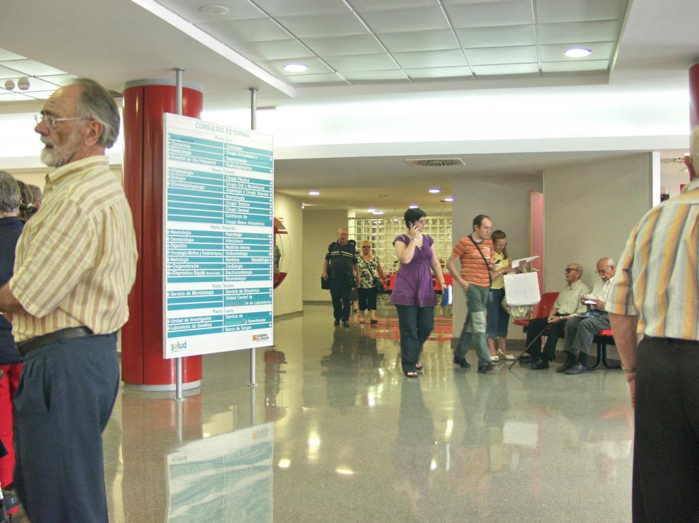 Consultas externas del Hospital Miguel Servet de Zaragoza