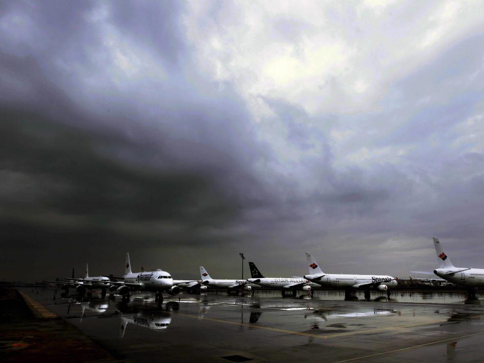 Imagen de un aeropuerto de Aena