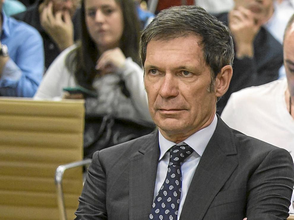 Javier Lasheras, accionista del Real Zaragoza que encabeza las reuniones con Hacienda.