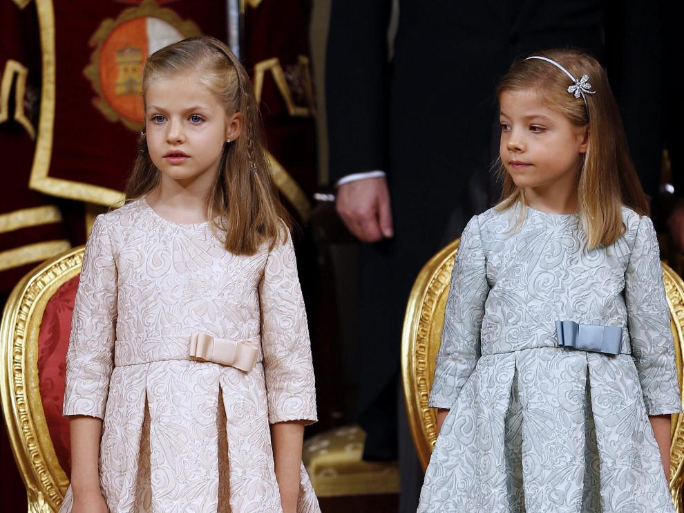 Leonor podrían no ser reina si tuviera un hermano varón