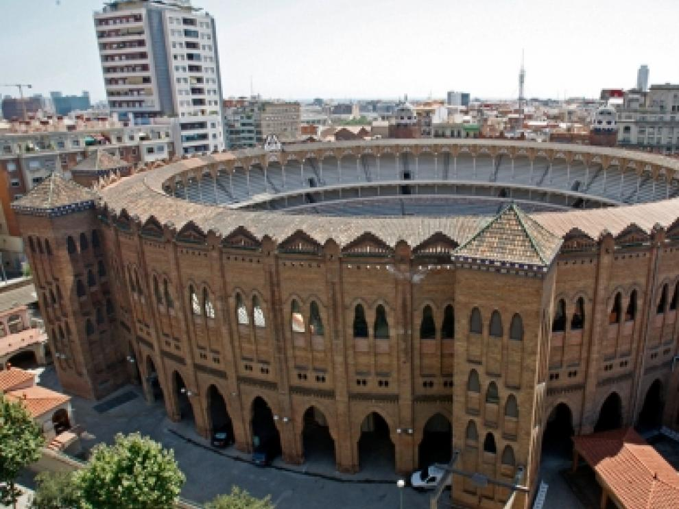 Imagen de la plaza de toros Monumental de Barcelona