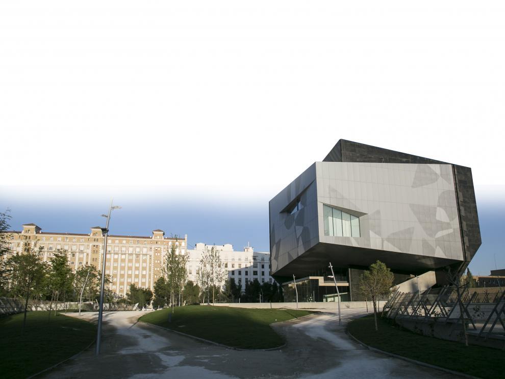 El edificio de CaixaForum