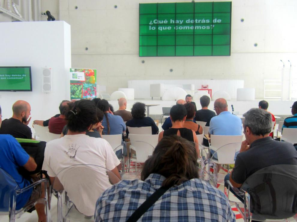 Una escuela para agricultores llega a Zaragoza