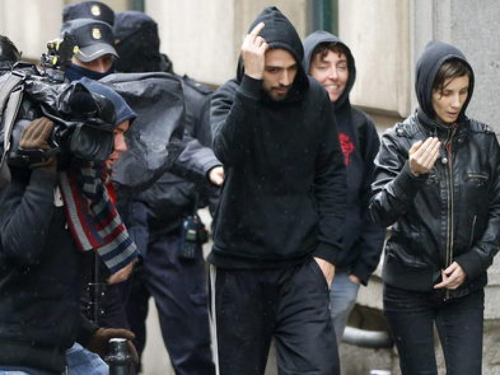 Los anarquistas implicados en la explosión del Pilar