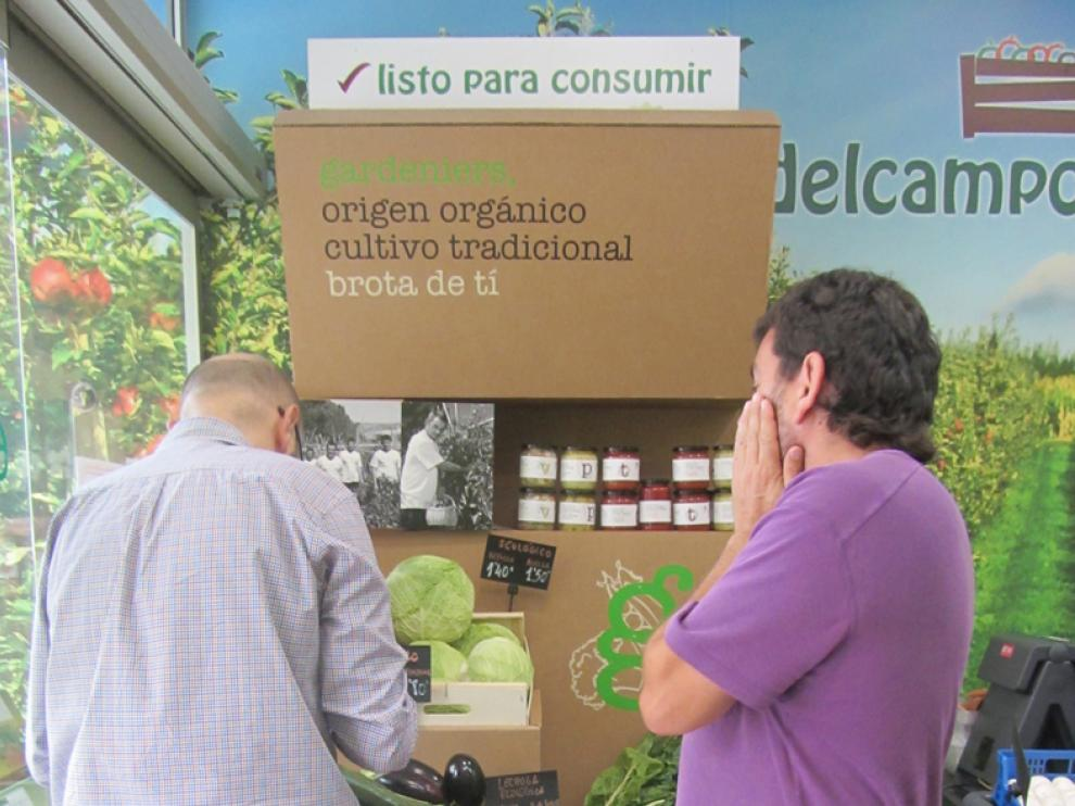 Las verduras de Gardeniers, en la tienda Del Campo y Más.