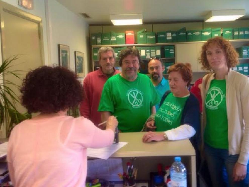 La organización ha presentado una solicitud de comparecencia ante las Cortes