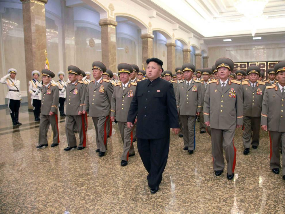 Kim Jong-Un en un acto. (Archivo)