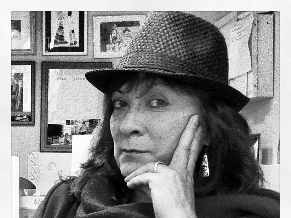 La escritora Alejandra Díaz-Ortiz
