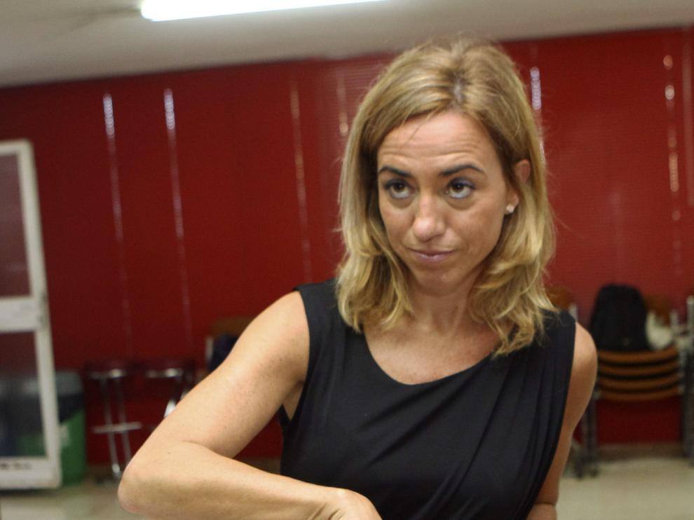 "Chacón a Sánchez e Iceta: ""Todos con vosotros en esta andadura"""