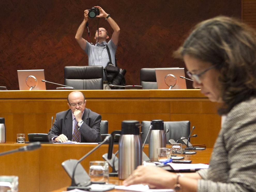 Eduardo Bandrés en la comisión de investigación
