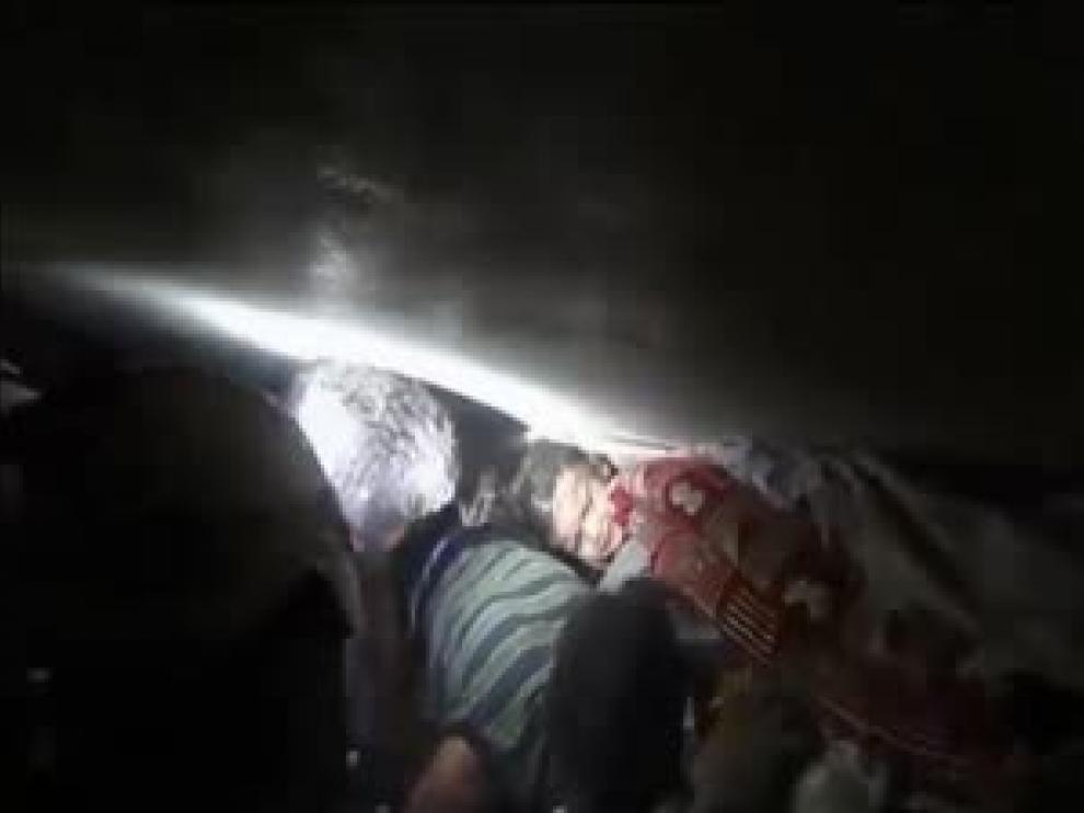 Vida entre los escombros de Alepo