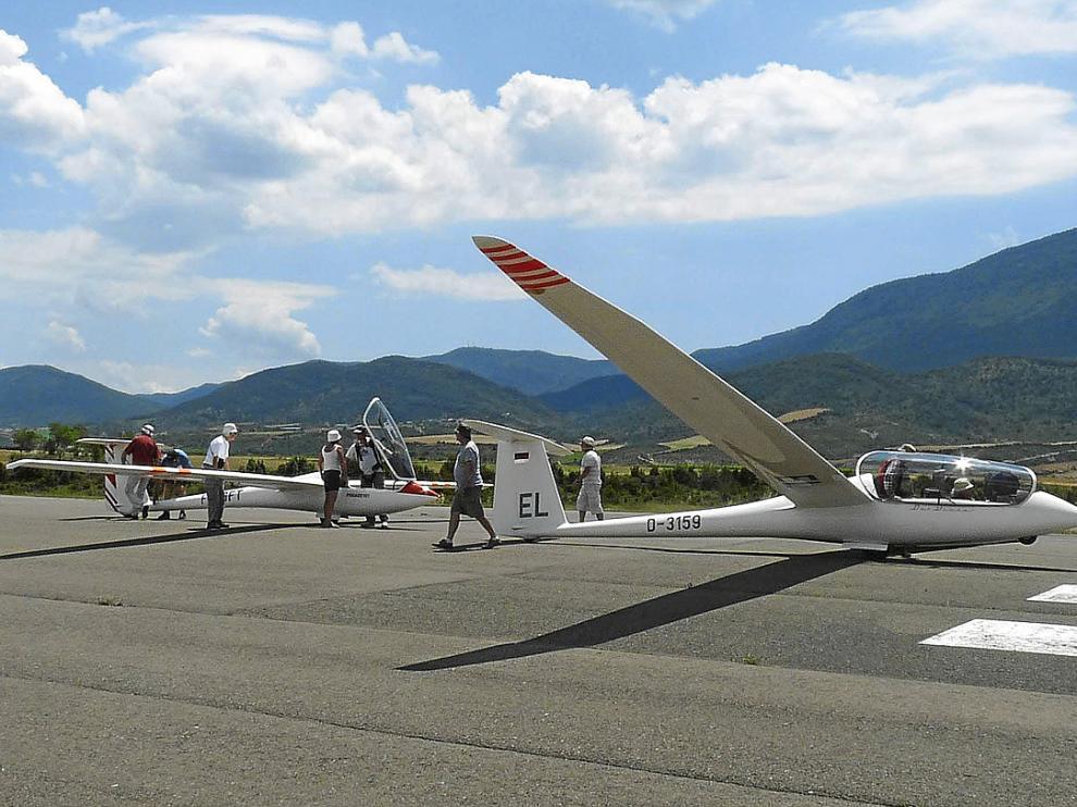 Imagen de archivo del aeródromo de Santa Cilia.