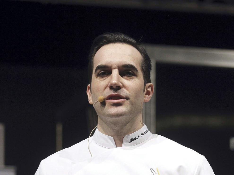El cocinero madrileño Mario Sandoval
