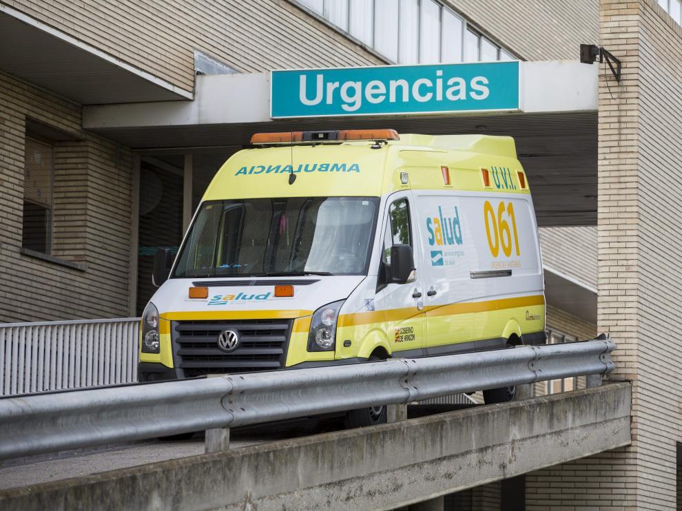Una ambulancia de la actual adjudicataria, Ambuibérica