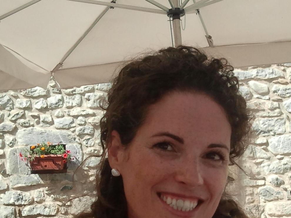 Mercedes Arruebo, responsable de Nuevas Tecnologías de Turismo de Aragón