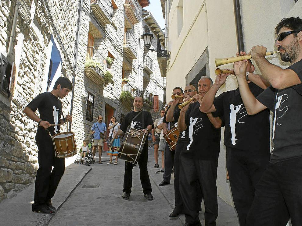Las calles de Boltaña vuelven a llenarse este fin de semana de música, como en la edición de 2012.