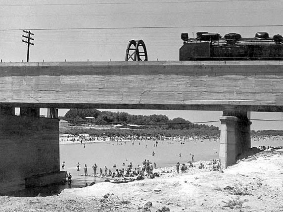 La playa de los Ángeles, en La Almozara