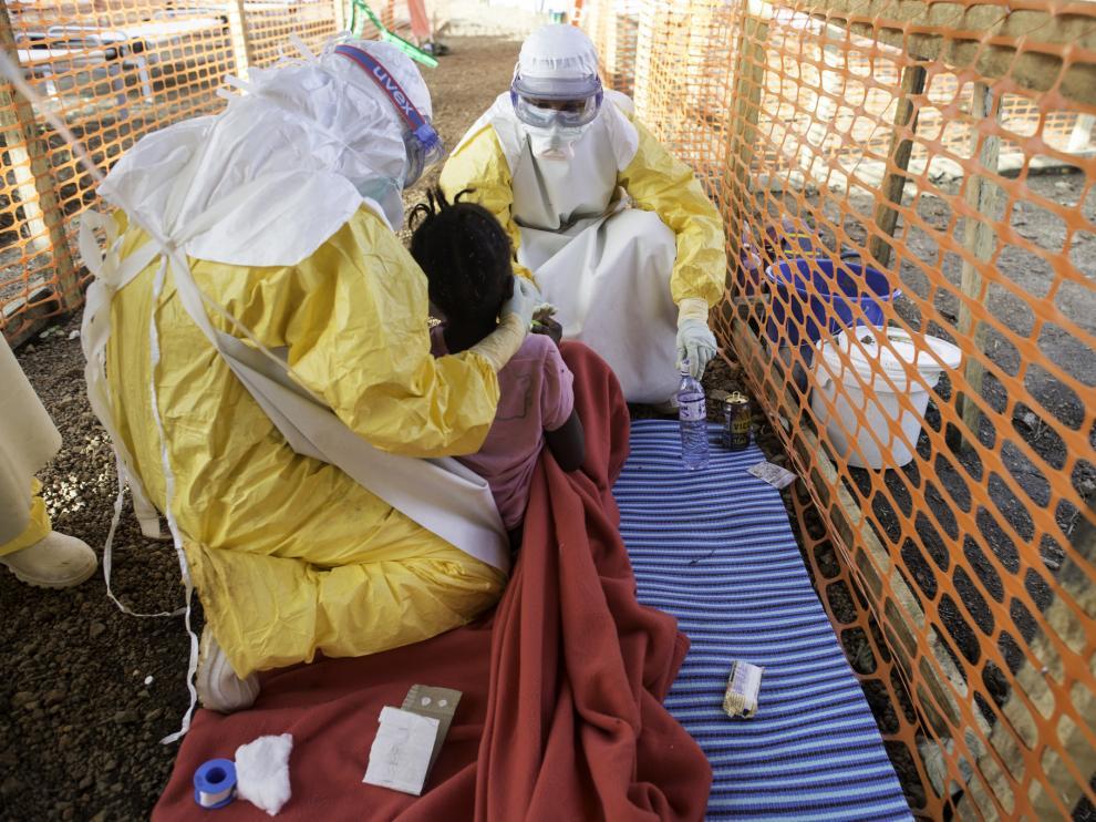 Centro de tratamiento médico del ébola de Médicos Sin Fronteras