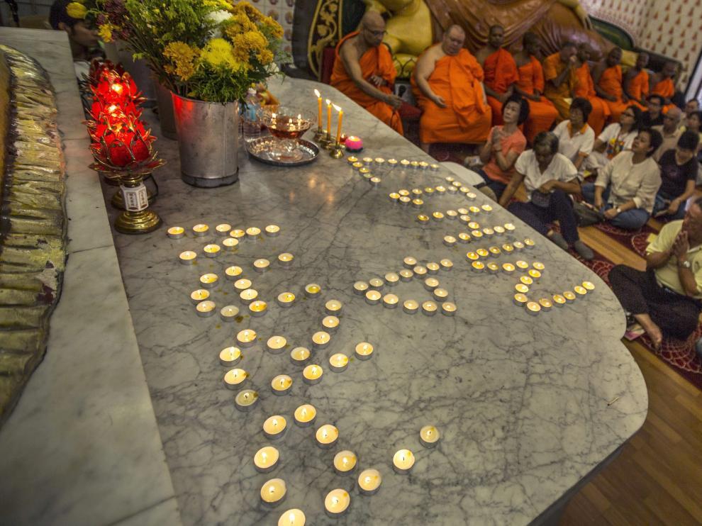 Homenaje en Kuala Lumpur a las víctimas del avión