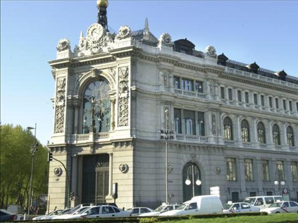 El Banco de España en una imagen de archivo.