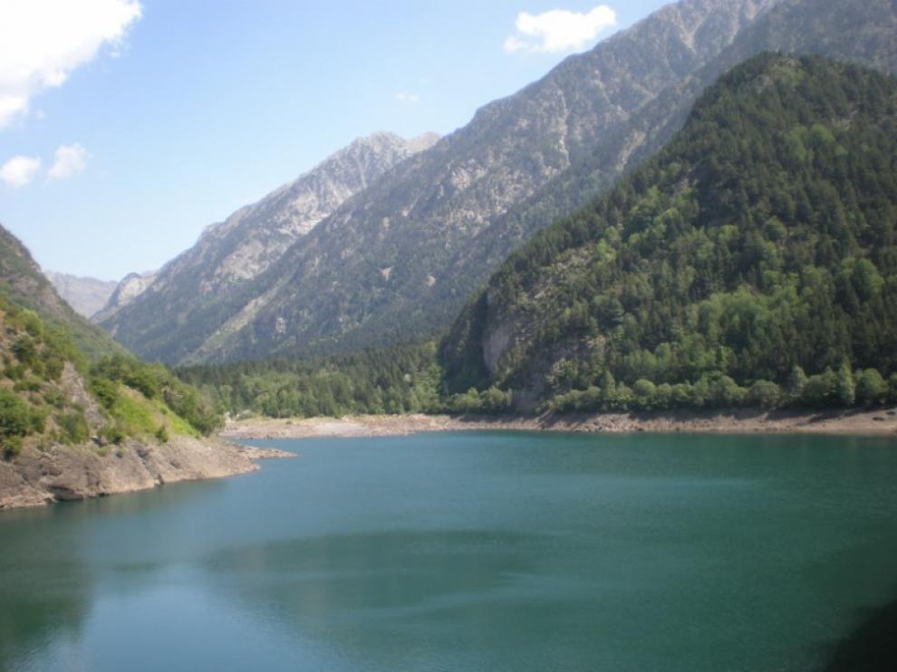 Los embalses del Ebro han bajado su capacidad respecto a la semana pasada.