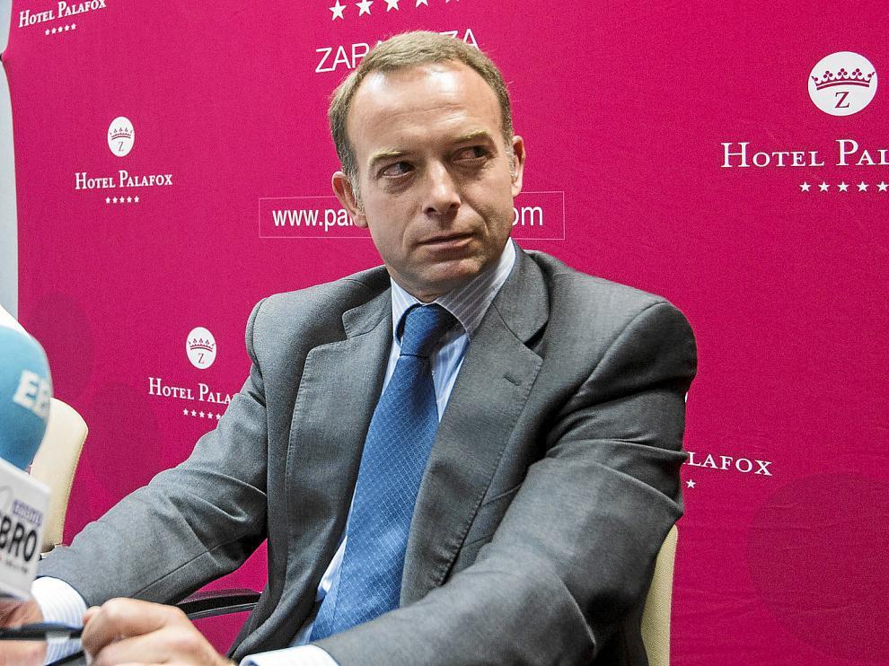 Christian Lapetra es el presidente de la Fundación Zaragoza 2032.