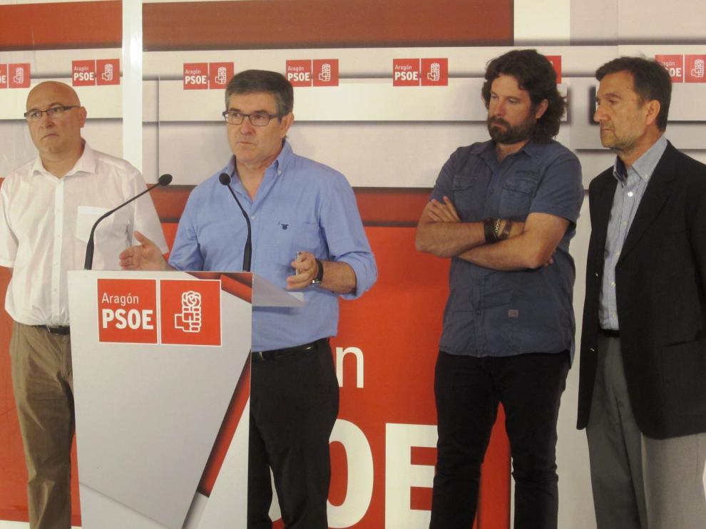 Vicente Guillen en una rueda de prensa este miércoles