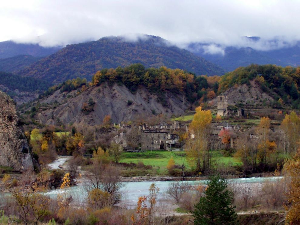 Jánovas, en la provincia de Huesca