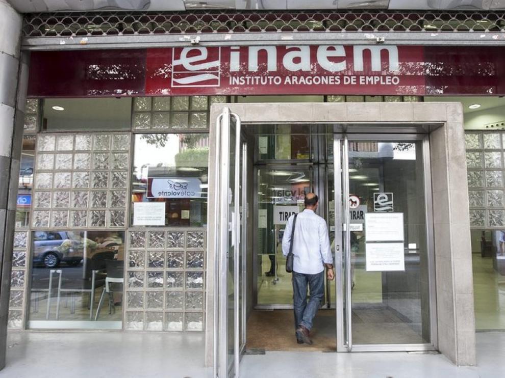 Oficina del Inaem en Zaragoza