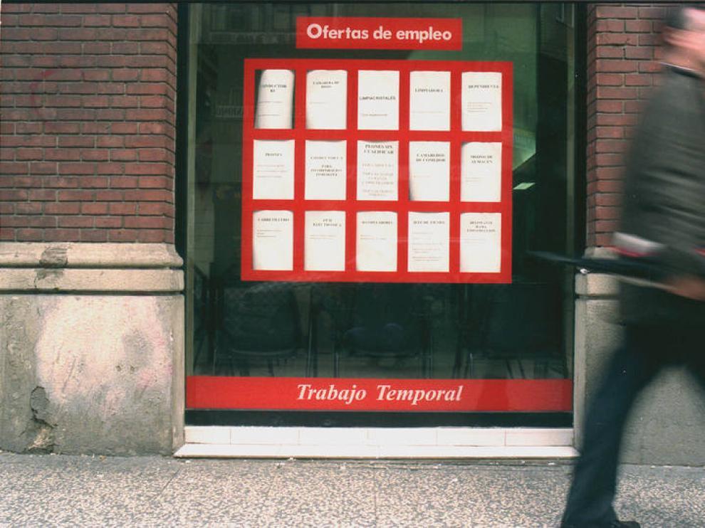 Una empresa de trabajo temporal en Zaragoza
