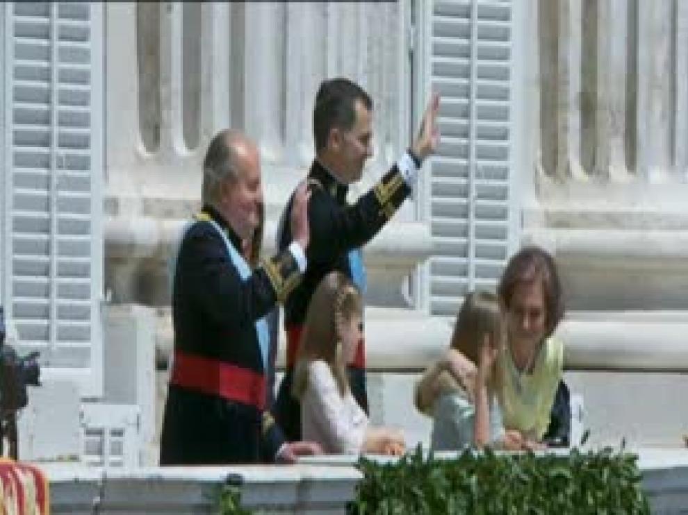 Los miembros de la Casa Real