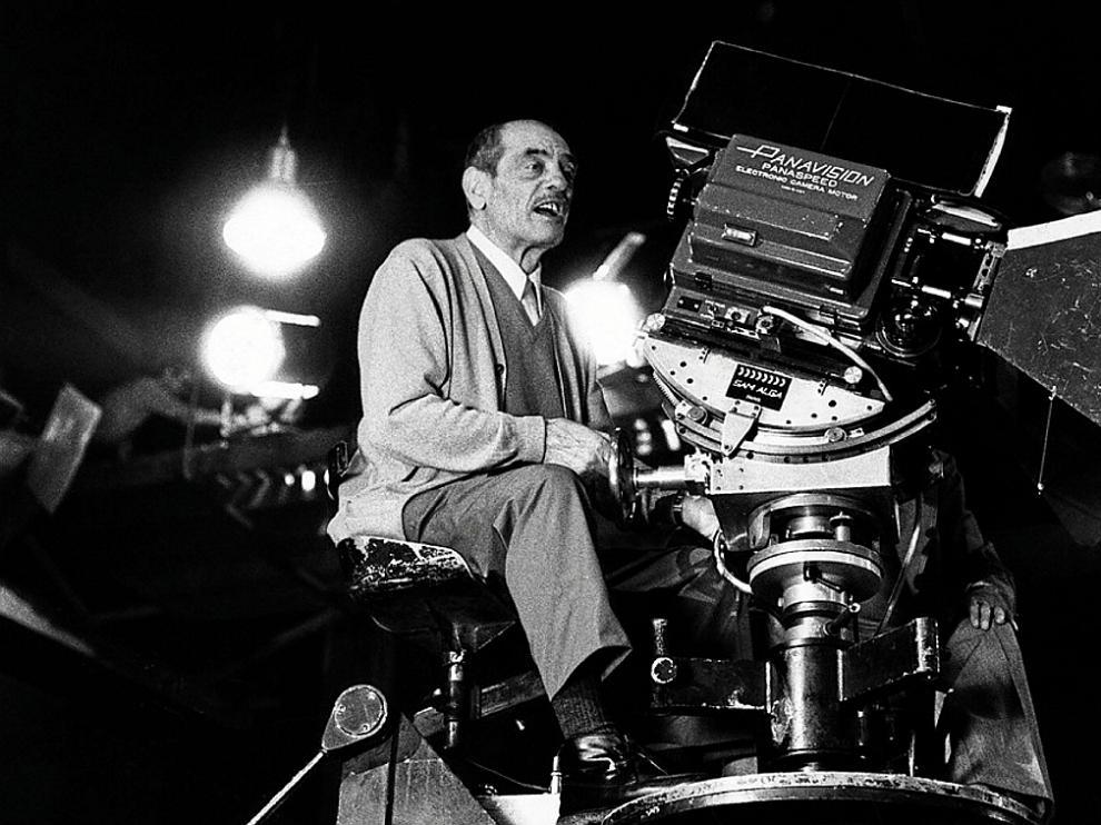 El director de cine aragonés Luis Buñuel.