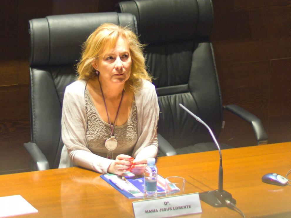 María Jesús Lorente, presidenta de la Asociación Aragonesa de Mujeres Empresarias (ARAME)
