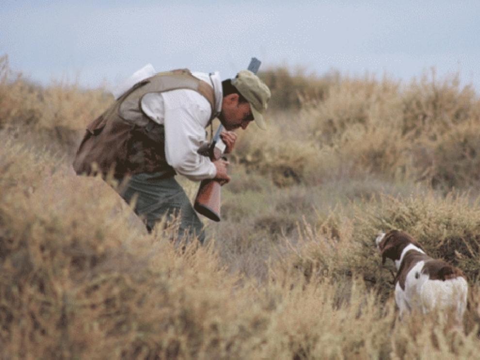 Una escena de caza, en imagen de archivo.