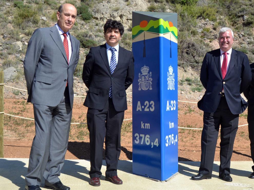 Abierto el tramo Nueno-Congosto de Isuela de la Autovía A-23 en Huesca?