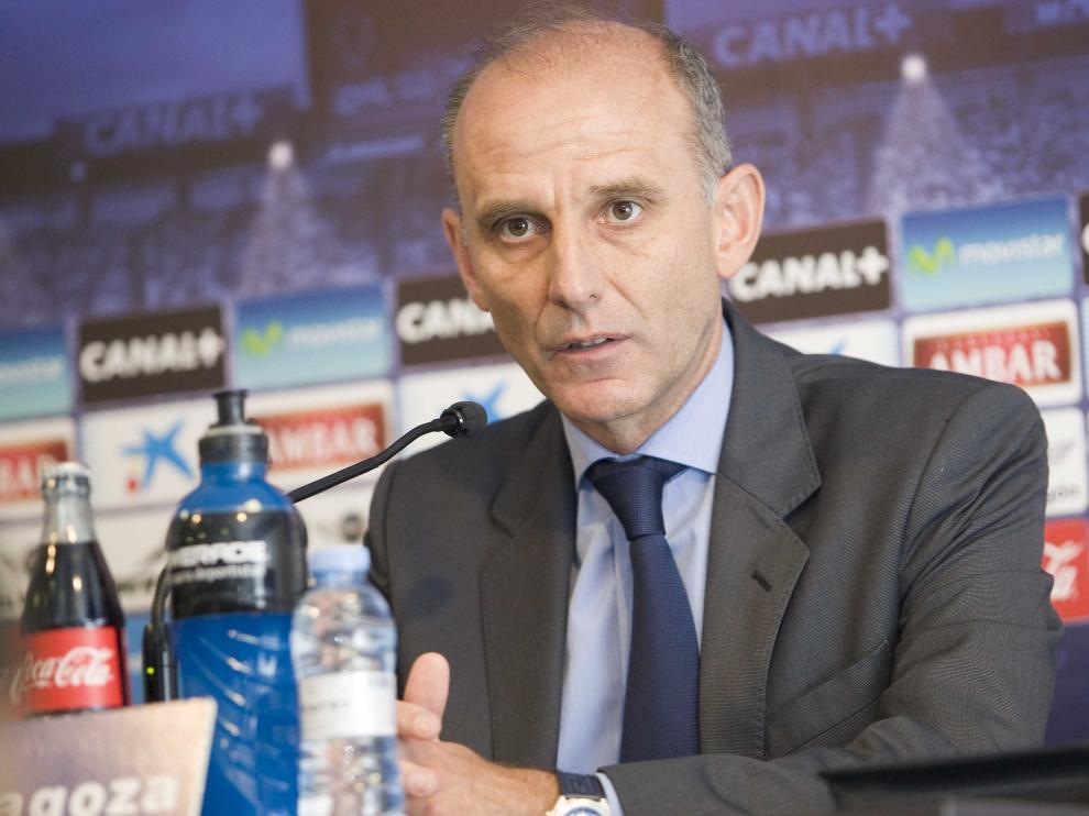 Ángel Martín, en rueda de prensa