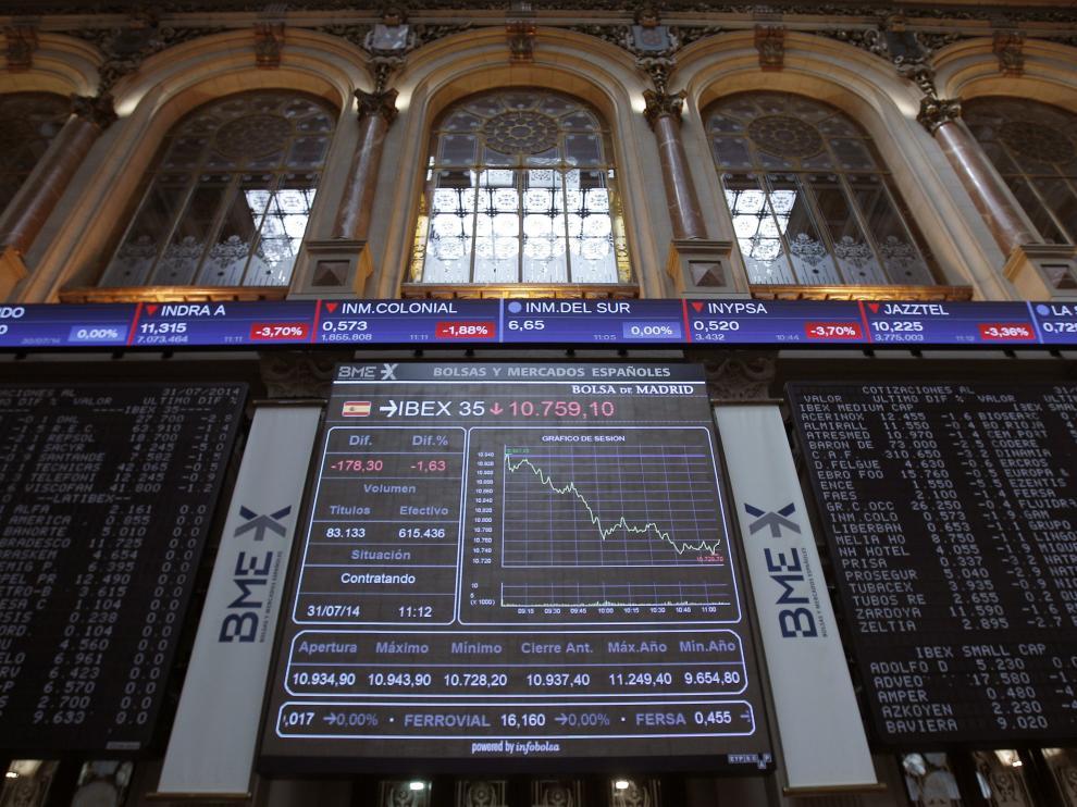 El IBEX 35 sufre la mayor caída desde mayo