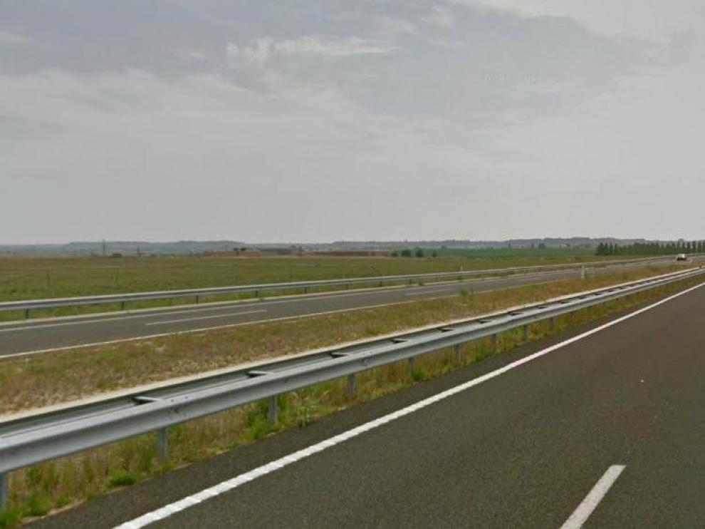 A-22 en dirección Cataluña