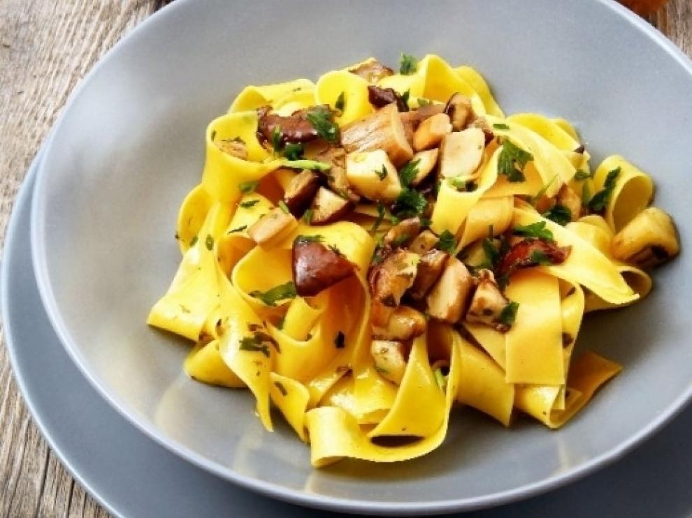 No hay que marcharse de Italia sin degustar un buen plato de pasta fresca