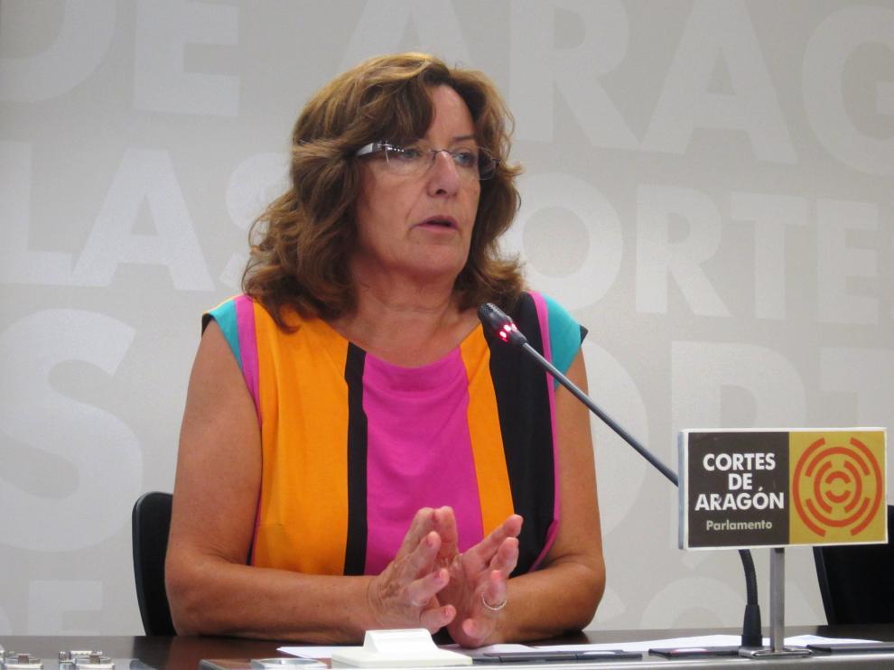 María Victoria Broto este viernes