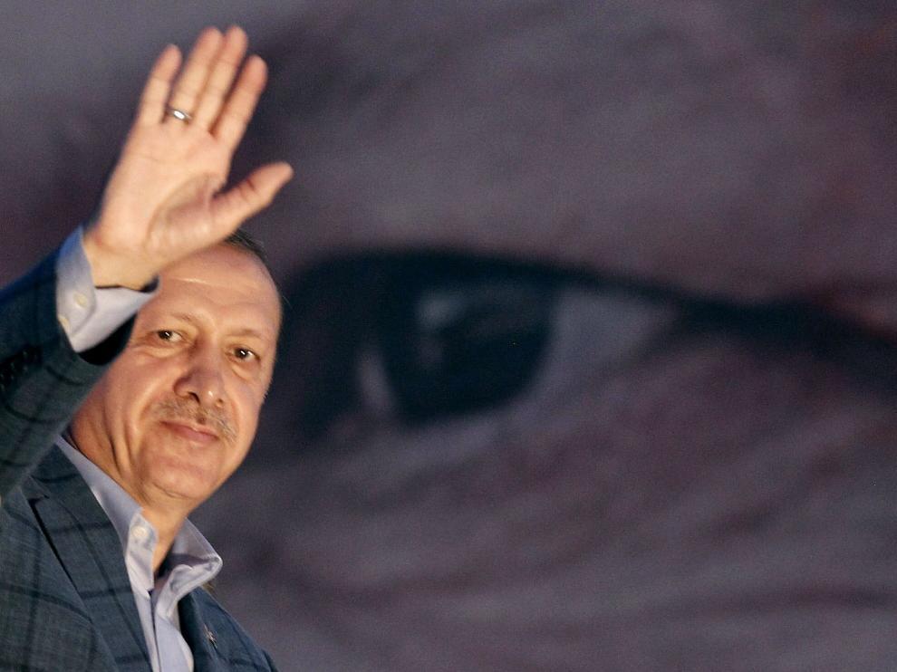 Erdogan, el presidente más poderoso de Turquía