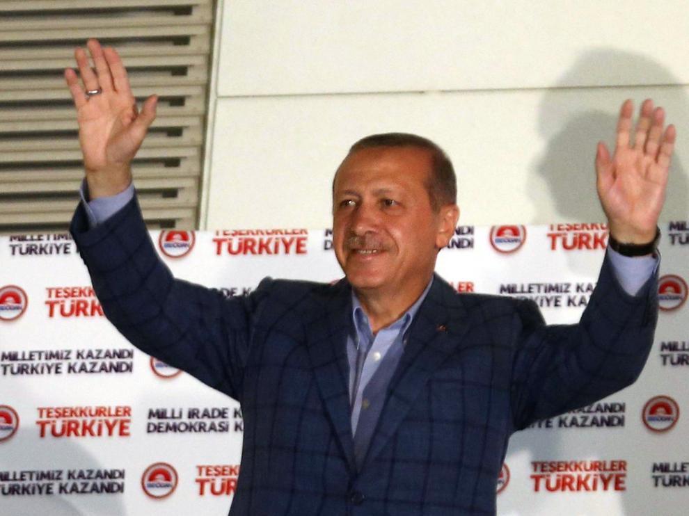 Erdogan, nuevo presidente turco