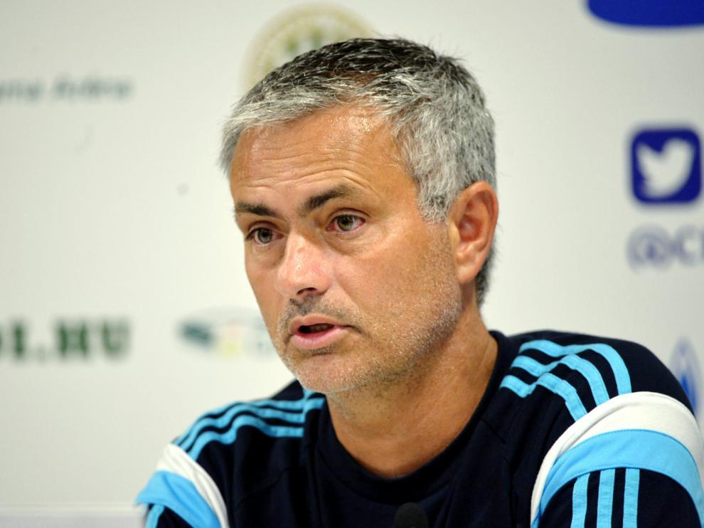 Mourinho en la rueda de prensa de este lunes