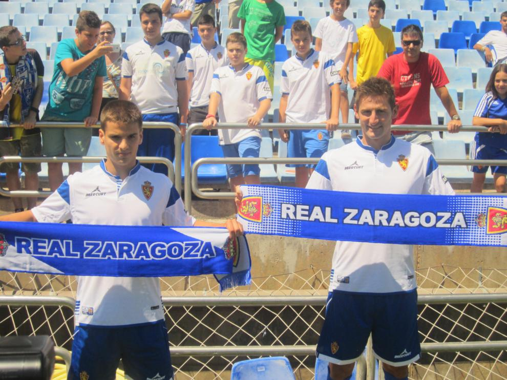 Rubén y Ruiz de Galarreta, ante su nueva afición