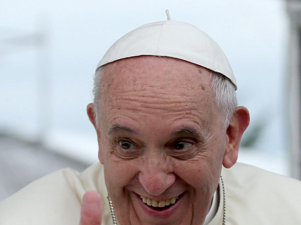 El papa Francisco este domingo