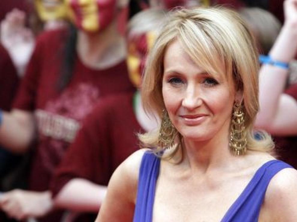 JK Rowling, autora de los libros de Harry Potter.