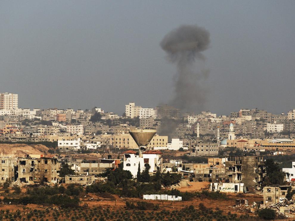Un ataque israelí sobre el norte de la Franja de Gaza