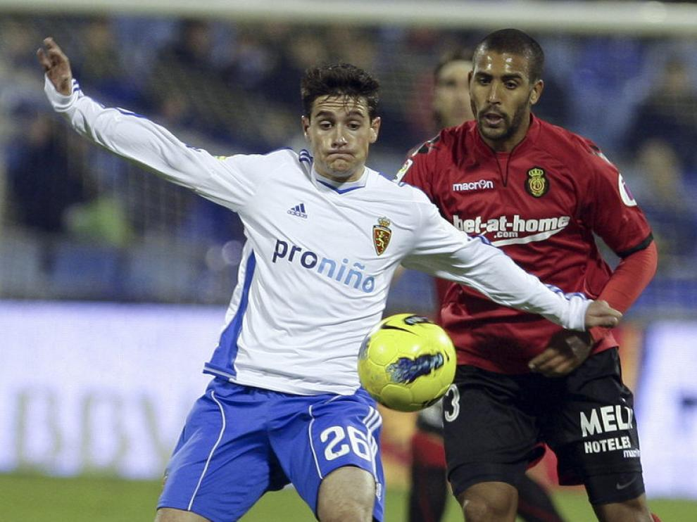 El delantero aragonés, Jorge Ortí.