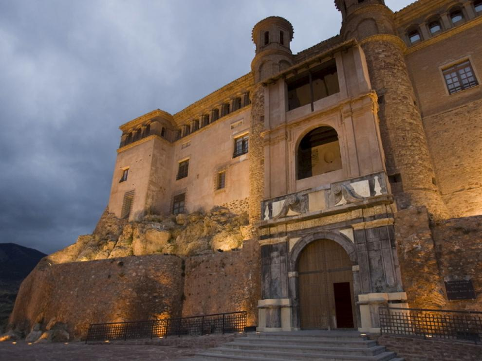 Castillo del Papa Luna en Illueca
