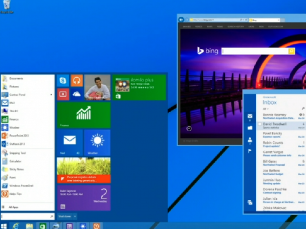El botón de inicio vuelve a Windows